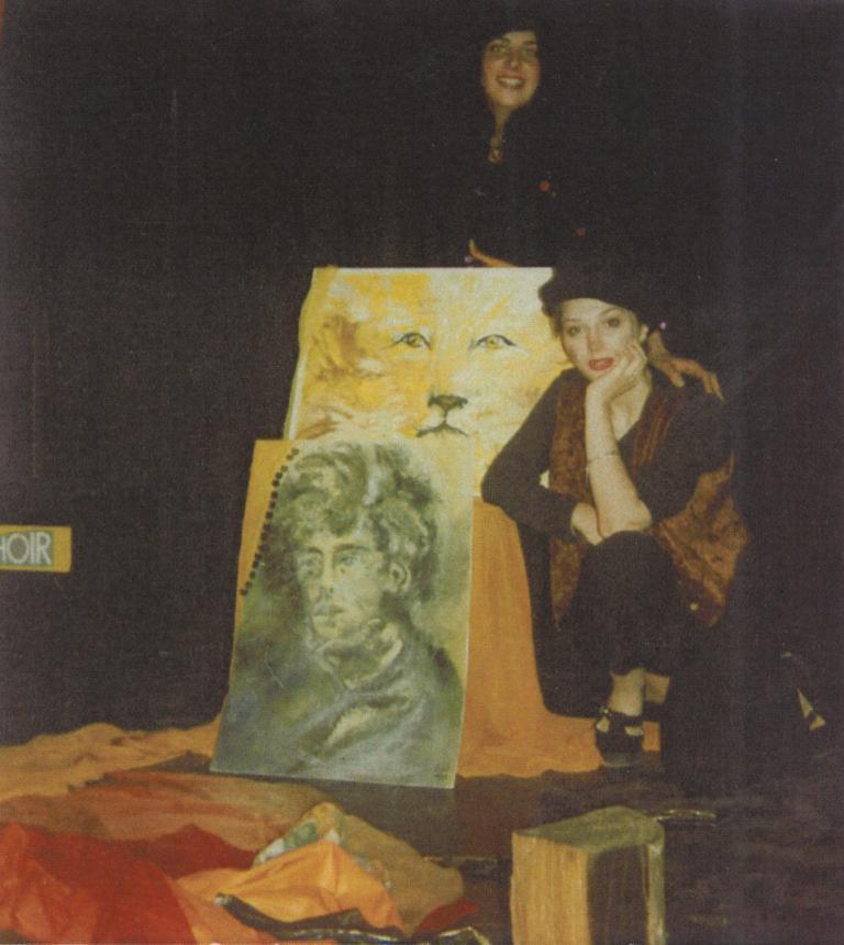 Elisabeth VALENCIC présente ses peintures