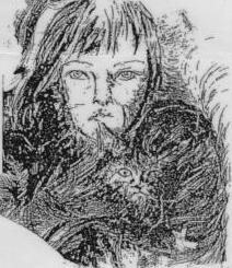 Portrait dessiné par Elisabeth VALENCIC